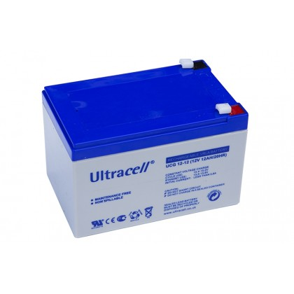 ULTRACELL 12V 12Ah GEL akumuliatorius
