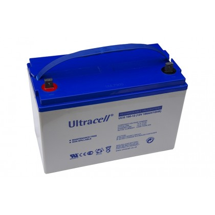 ULTRACELL 12V 100Ah GEL akumuliatorius