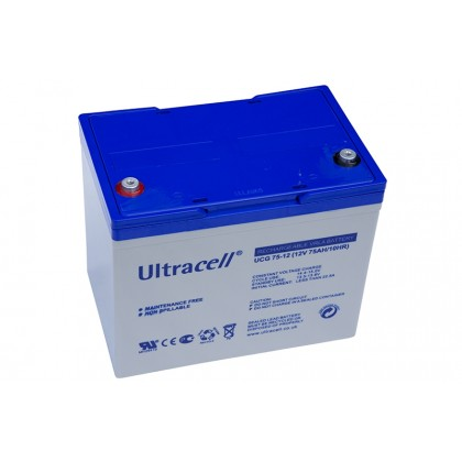ULTRACELL 12V 80,4Ah GEL akumuliatorius